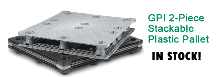 Stackable Plastic Pallet - GPI-4840