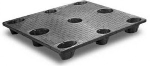 GRU 4840 Heavy Duty Nestable Plastic Pallet