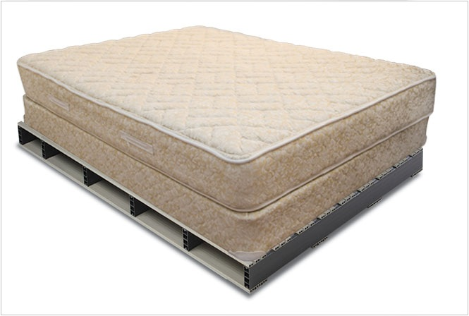 custom plastic pallet mattress